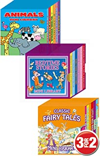 Mini Library Board Books - Special Pack for Toddlers, Children, Babies - Bedtime Time Story Board Book - Fairy Board Book...