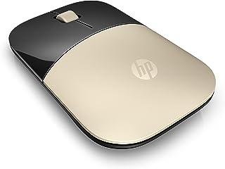 ماوس ضوئي لاسلكي من اتش بي متوافق مع اجهزة البي سي و اللابتوب X7Q43AA - لون ذهبي