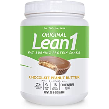 Nutrition 53 Lean 1 Dietary Supplement, Chocolate Peanut Butter, 1.98 lb