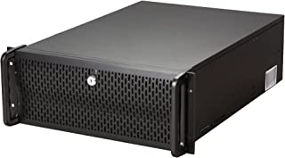 Rosewill 4U Server Chassis/Server Case/Rackmount Case, Metal Rack Mount Computer Case with 8 Bays & 7 Fans Pre-Installed (RSV-L4000)