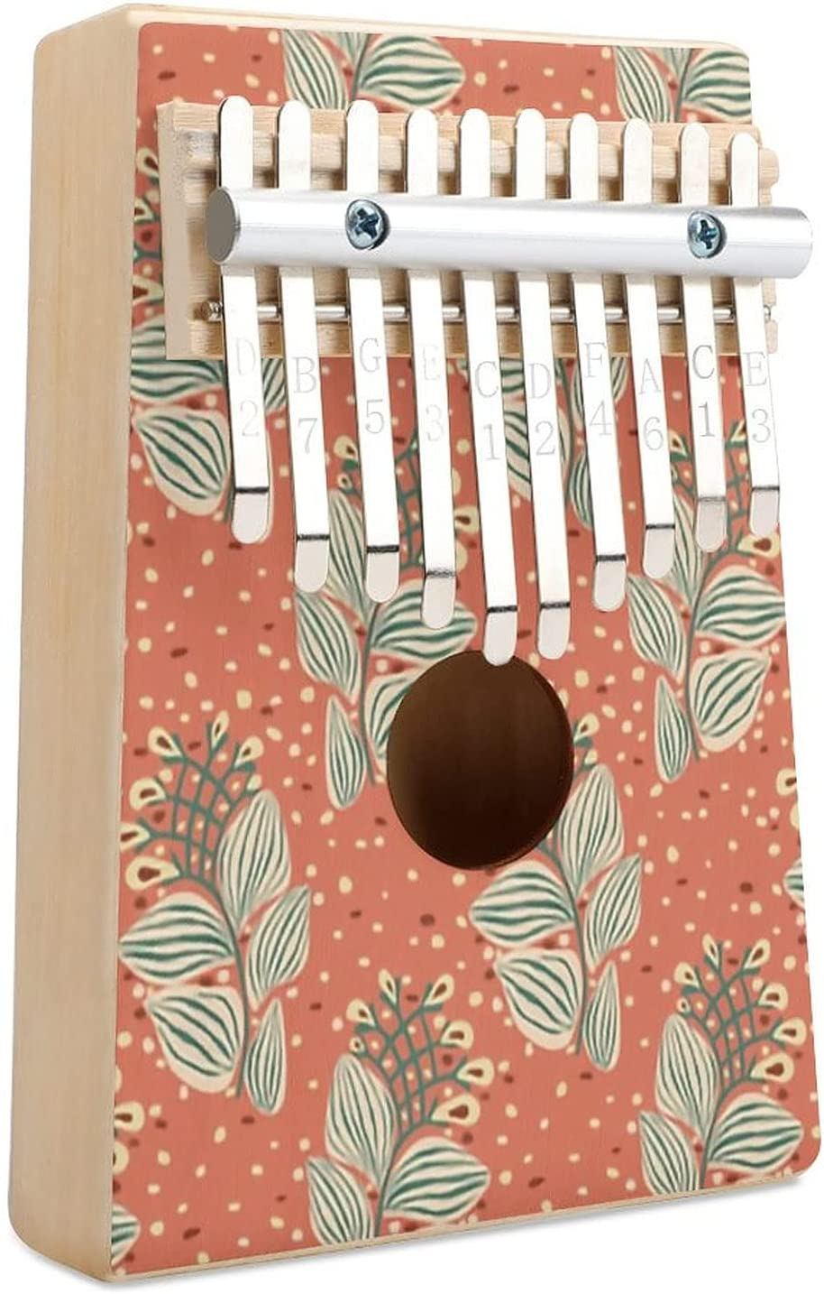 Cats Low price Coord 1B Kalimba Thumb 25% OFF Piano Musical Key In 10 Finger