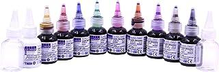 SÜDOR Kit de peinture pour verre à séchage rapide Vitrail - 10 couleurs x 25 ml