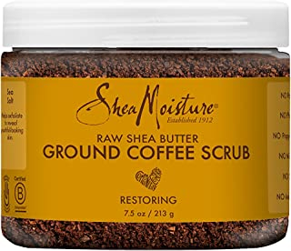 SheaMoisture Raw Shea butter ground Coffee Scrub 8oz, pack of 1