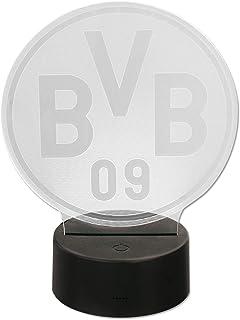 Borussia Dortmund BVB-Logoleuchte Dekoration, schwarzgelb, o