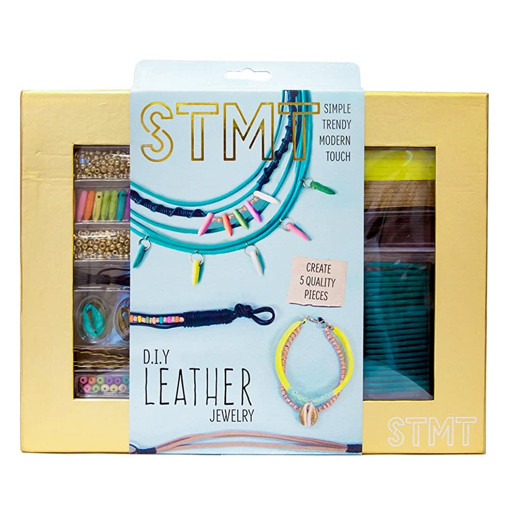 STMT DIY Leather Jewelry Kit by Horizon Group USA