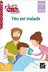 Téo et Nina GS CP Niveau 1 - Téo est malade (Je lis pas à pas t. 9) Format Kindle