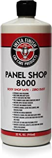 Insta Finish Panel Shop 8000 Body Shop Safe auto Polish Zero dust 32oz