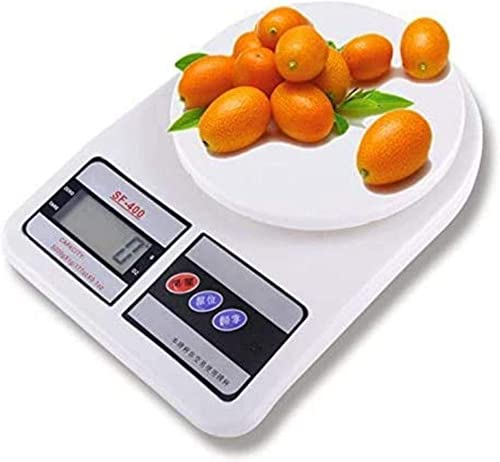 Mama Plastic Weight Machine for Home Kitchen Kitchen Weight Machine Digital Food Weighing Scale Fruits Vegetables Products Electric Weight Machine 10 KG