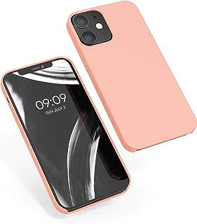 kwmobile Hülle für Apple iPhone 12/12 Pro   Handyhülle gummiert   Handy Case in Grapefruit Pink