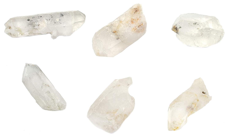 6PK security Raw Manufacturer OFFicial shop Quartz Mineral Specimen Approx. Geologist 1