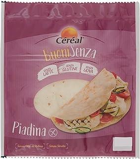 Céréal Piadine senza Glutine, senza Latte, senza Uova, 200g