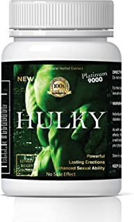 Hulky Natural Male Dietary Herbal Product for Men 24 Packs