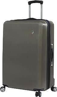 Italy Moda Hardside 28 Inch Spinner Luggage, Gunmetal