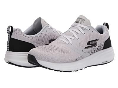 SKECHERS Go Run Ride 8 (Light Grey/Black) Men