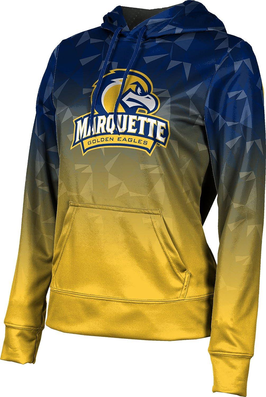 ProSphere Marquette University Girls' Pullover Hoodie, School Spirit Sweatshirt (Maya)