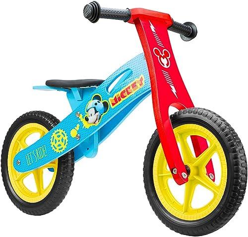 entrega gratis Disney Disney Disney Niños Wooden Balance Bike Mickey 12Sports, m  promocionales de incentivo