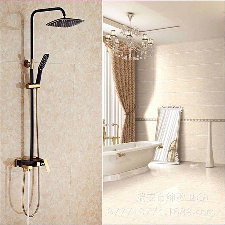 QMPZG-Kupfer, High-End-Dusche-Sets, heie und kalte Dusche set