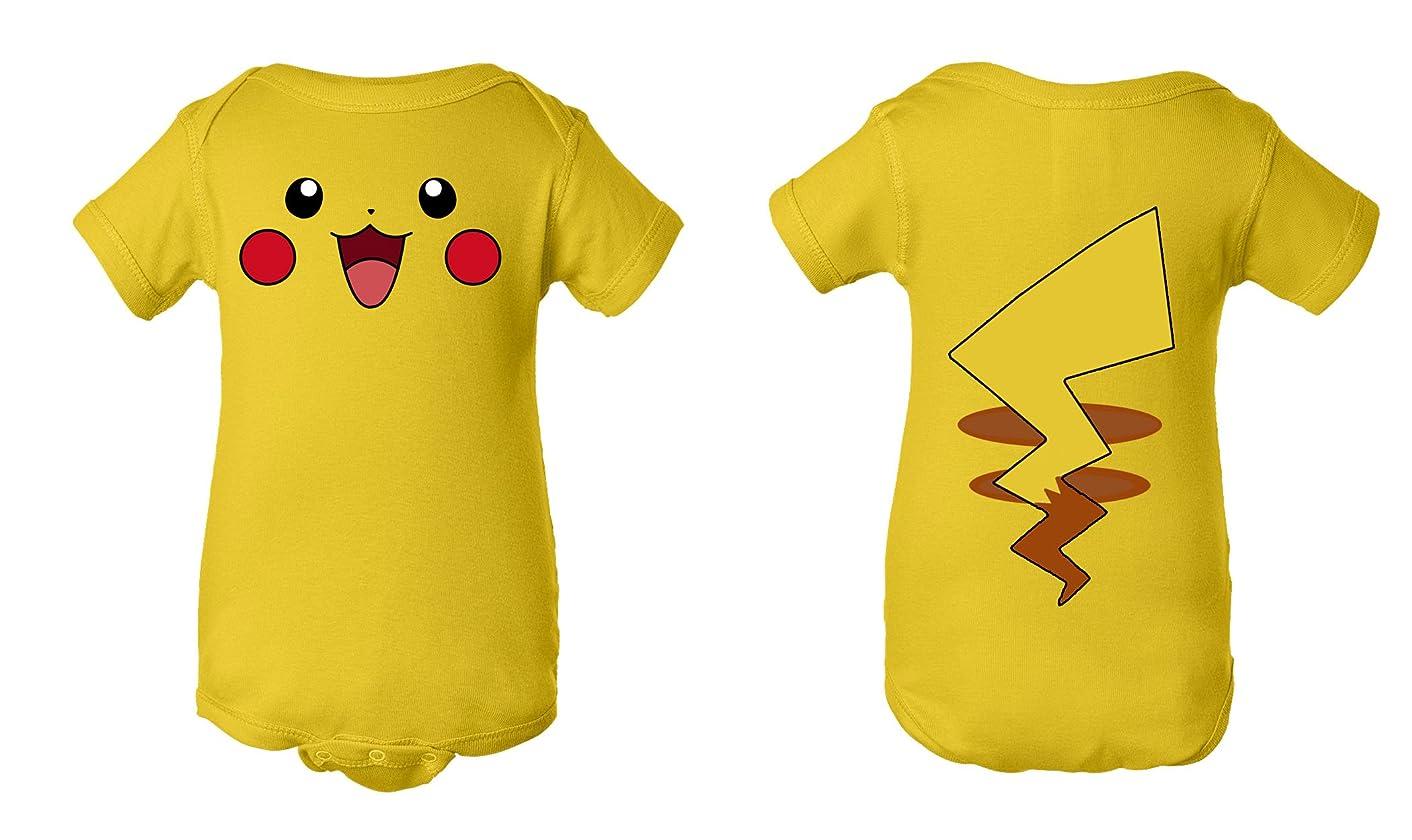 Tee Tee Monster Baby Pikachu Pokemon Inspired Onesie