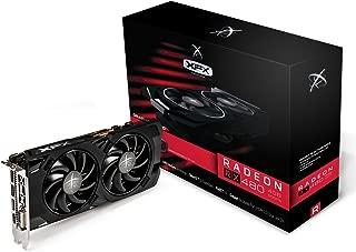 XFX Radeon RX 480 4GB GDDR5 True OC 1266MHz w/Hard Swap Fan Technology RX-480P4LFB6