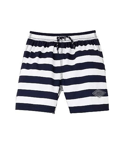 Joules Kids Ocean (Toddler/Little Kids/Big Kids) (Navy/White Stripe) Boy
