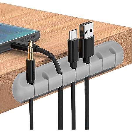 Cable Clips Cord Management Organizer 3 Packs Adhesive Elektronik