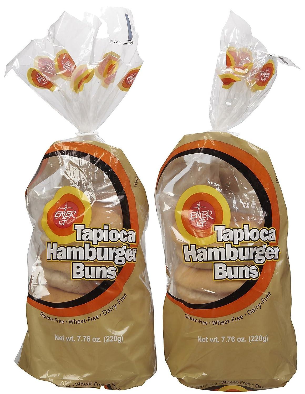 Ener-G Cheap mail order specialty store Tapioca Hamburger Buns - oz 2 pk Ranking TOP3 7.76