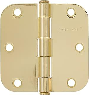 SCHLAGE Lock CO SC3P1011F-605E BB Round Corn Hinge, 3-Pack