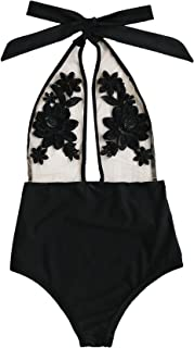 Best mesh bodysuit with flowers Reviews