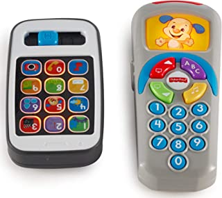 Fisher-Price Laugh & Learn Gift Set, Smartphone and Remote [Amazon Exclusive]
