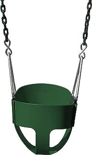 Gorilla Playsets 04-0008-G/G Full Bucket Toddler Swing, Bucket, Green 60