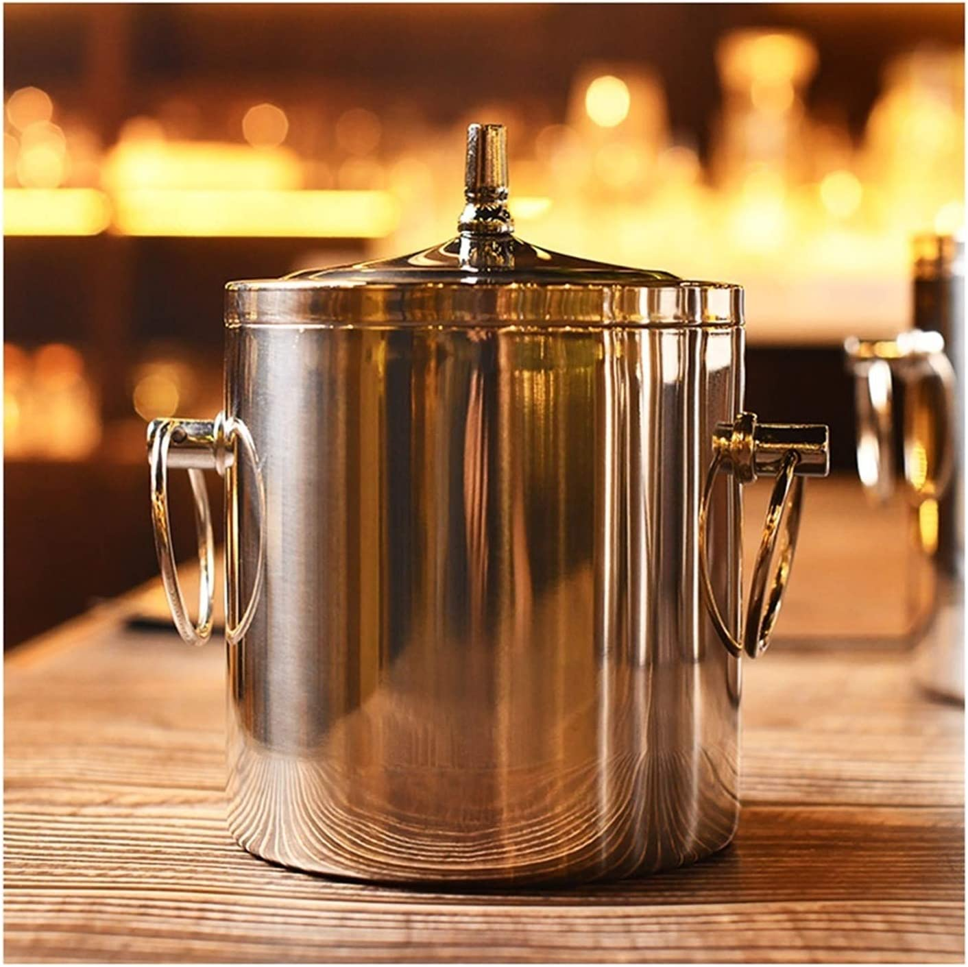 Beverage Tub Bar Beer Cocktail Drink Bucket Lid Ranking TOP17 With gift R Small Ice