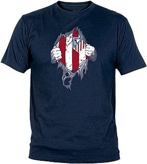 Desconocido Camiseta El Atleti En El Corazón Adulto/niño