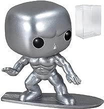 Funko Pop! Marvel - Silver Surfer Vinyl Figure (Bundled with Pop BOX PROTECTOR CASE)