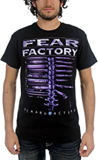 Licensed FEAR FACTORY Demanufacture Spinal Cord Logo T-Shirt S NEW