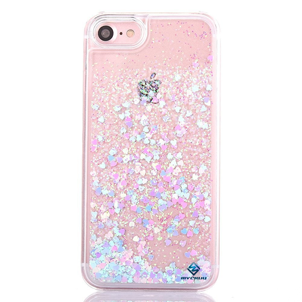 glitter iphone 6 cases for girls amazon comiphone 6s case,iphone 6 case, myckuu liquid, cool quicksand moving stars bling