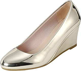 12224e597c366 Gold Women's Pumps & Heels | Amazon.com