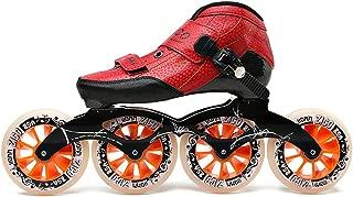 Speed Roller Skates Carbon Fiber Professional 4 Wheels Racing Skating Skates for Kids Adult Men Patins