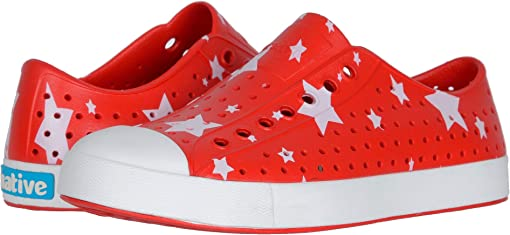 Torch Red/Shell White/Multi Stars