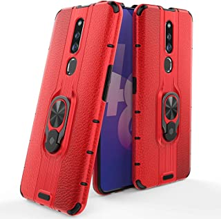 FanTing Case for Oppo F11 Pro,Hard PC+ soft silicone double layer design,Scratch resistant and durable,with mobile phone h...