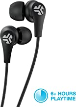 JLab Audio JBuds Pro Bluetooth Wireless Signature Earbuds   Titanium 10mm Drivers   6-Hour Battery Life   Music Controls   Noise Isolation   Bluetooth 4.1 Extra Gel Tips and Cush Fins   Black