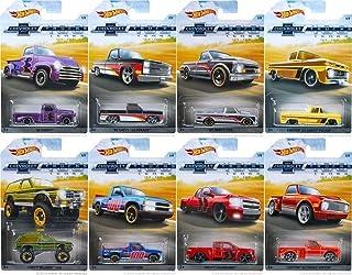 MATTEL HW CARS Hot Wheels 100 Year Chevy Trucks Set of 8