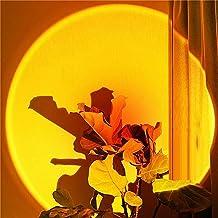 Zonsondergang Projectie Lamp Met Colorfuls Licht 180 ° Roterende Usb Opladen Rainbow Projector Zonsondergang Lamp Voor Fo...