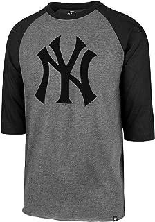 '47 Brand Raglan Shirt - MLB New York Yankees Charcoal