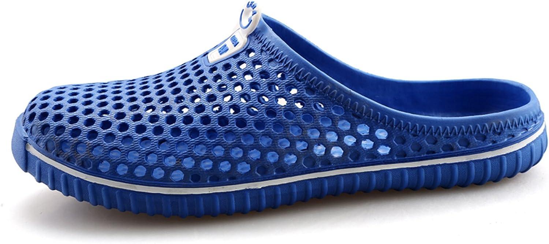 WLLH Men Women Mesh Beach Sandals Breathable Holes Slippers Water Shoes Garden Clog Footwear Walking Shower Anti-Slip Shoes