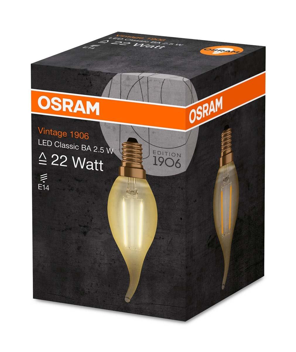 Osram Bombilla Led, 2.5 W, Blanco, Equivalente A 22 Vatios: Amazon.es: Iluminación