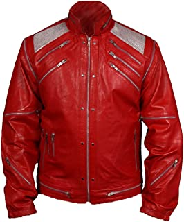 MSHC Men's Michael Jackson Beat It Faux Leather Jacket