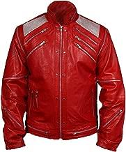 F/&H Kids Michael Jackson 1984 Pepsi Ad Commercial Genuine Leather Jacket