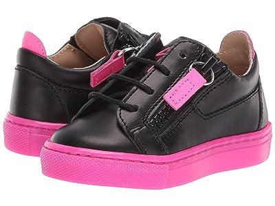 Giuseppe Zanotti Kids SBI9101 (Toddler) (Black/Pink) Kid