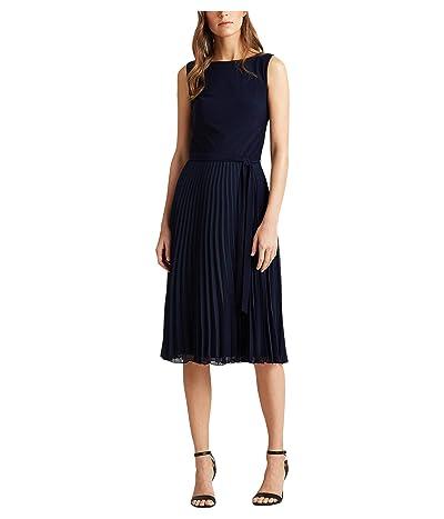 LAUREN Ralph Lauren Florin Dress (Lighthouse Navy) Women