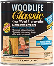 Rust-Oleum Clear 902 Wolman Classic Wood Preservative-Above Ground, Quart